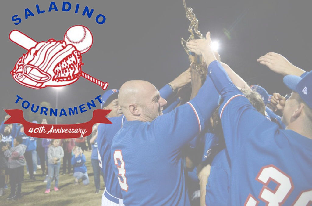 Big changes set for 40th Saladino Tournament
