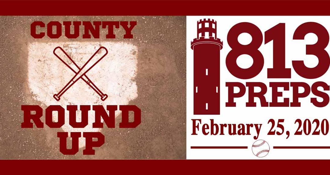813Preps Baseball Round-Up for 2/25/20