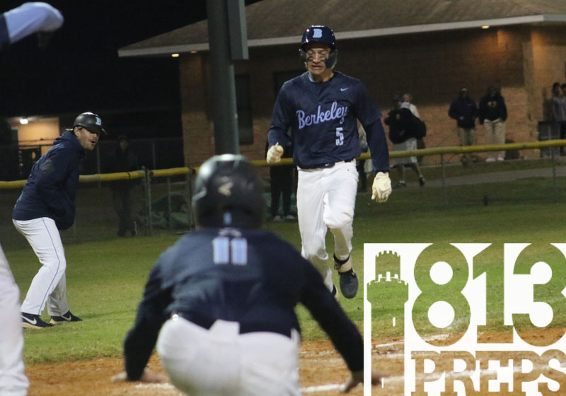 Haire's three-hit night leads Berkeley Prep to win at Tampa Catholic