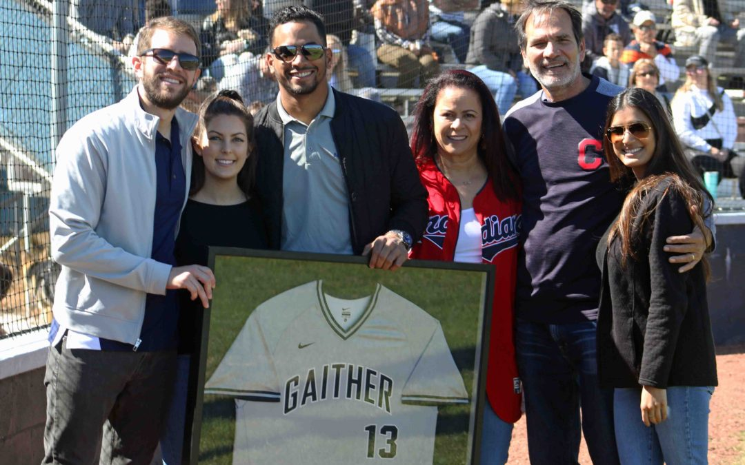 Gaither alum Mercado honored with jersey retirement