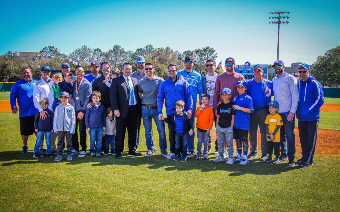 Jesuit 2000 state champs honored, champion coaching trio share field