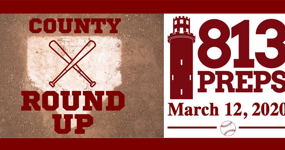813Preps Baseball Round-Up 3/12/20