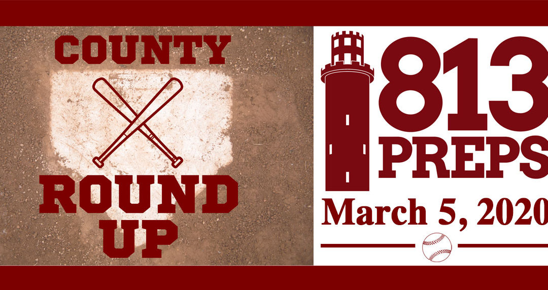 813Preps Baseball Round-Up 3/5/20
