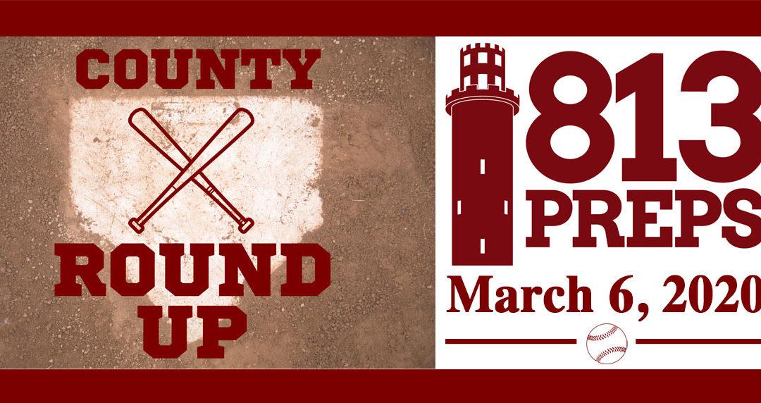 813Preps Baseball Round-Up 3/6/20