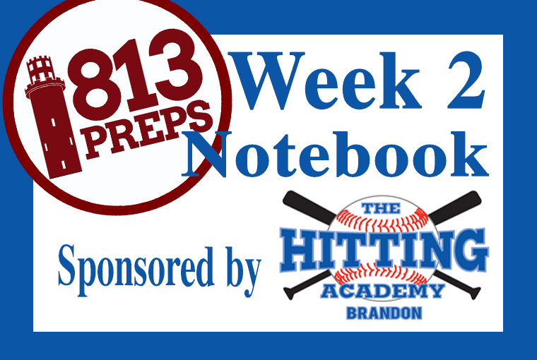 813Preps Week 2 Baseball Notebook