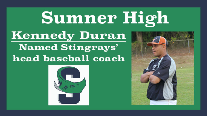 Lennard's Duran tapped to launch new Sumner High baseball program