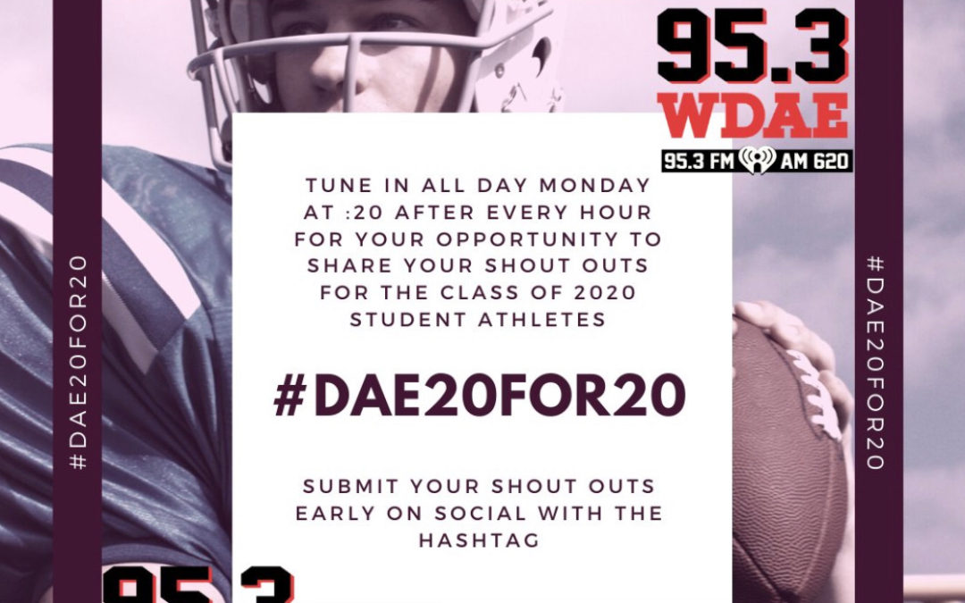 WDAE to host senior shout out on Monday