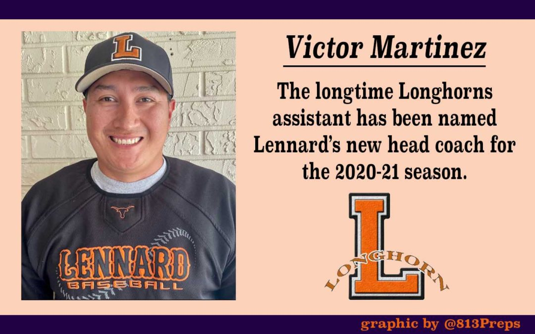 Longtime assistant Martinez becomes Lennard's new head coach