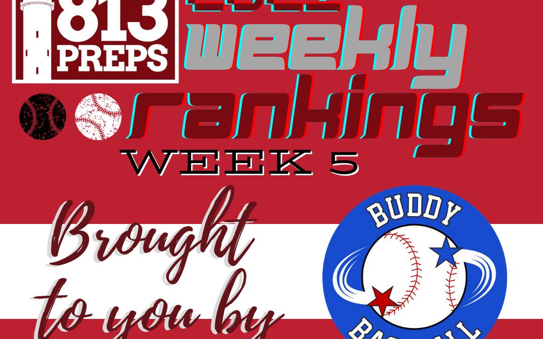 813Preps 2021 Weekly Rankings – Week 5