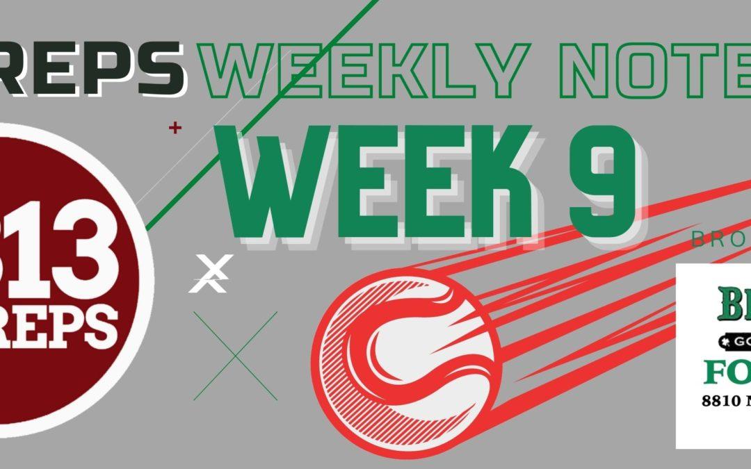 813Preps Week 9 Notebook: FACA All-Star, POTY; District Schedules