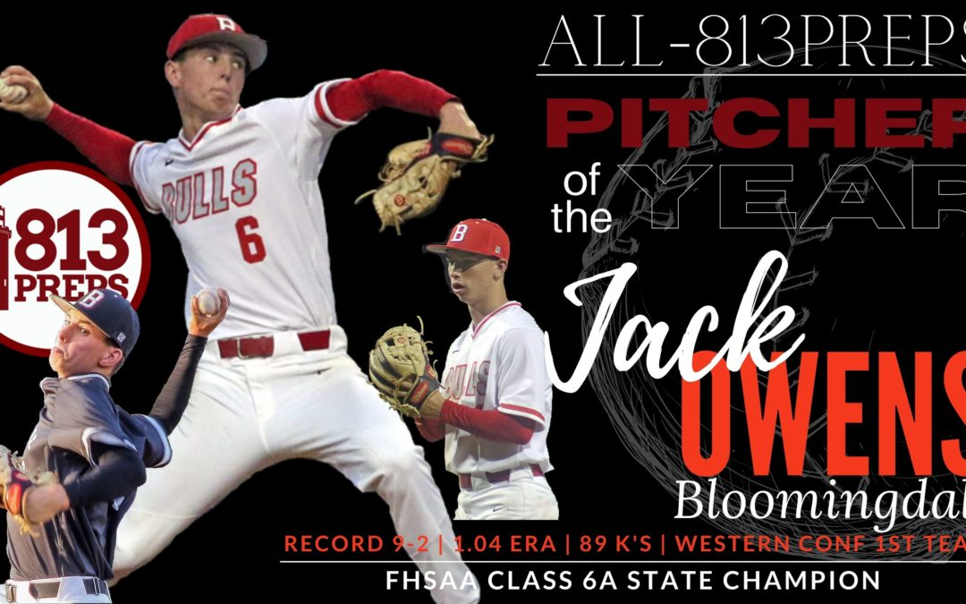 2021 All-813Preps Pitcher of the Year